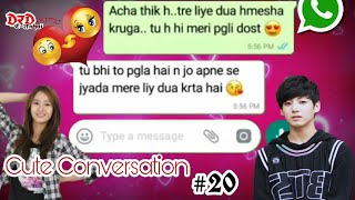 Cute Conversation of Boy and Girl Best friend forever  Friendship day