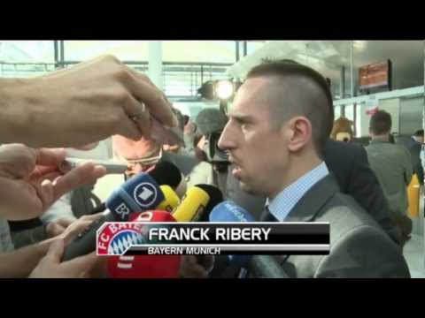 Champions League - Marseille v Bayern Munich - preview with Franck Ribery
