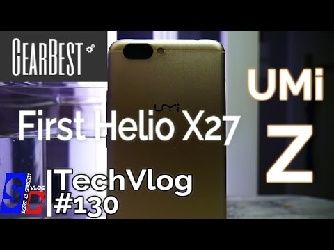 UMi Z - Le Test Complet - Premier smartphone Helio X27
