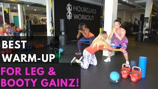 BEST LEG DAY Mobility Warm-Up!!