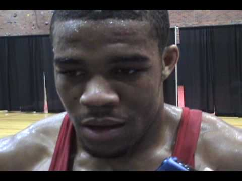 Interview with Big 12 champion Jordan Burroughs of Nebraska---157 pounds