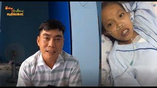 Em Giàu gửi lời cảm ơn đến cô chú sau ca phẫu thuật thành công