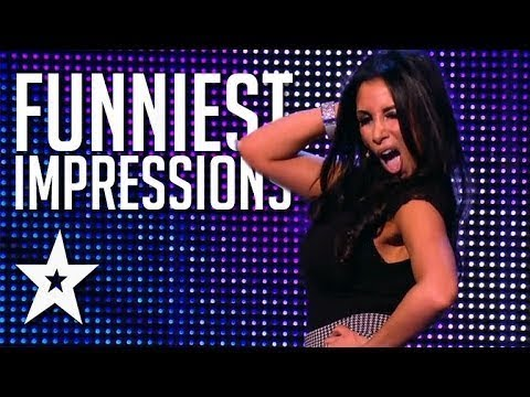 Funniest Top 10 Celebrity Impressions || Top 10 Hilarious Celebrity Impressions