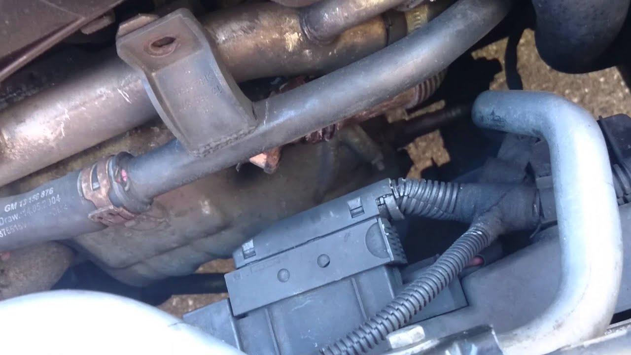 Saab 9-3 1.9 tid. Turbo? Leak?......... - YouTube