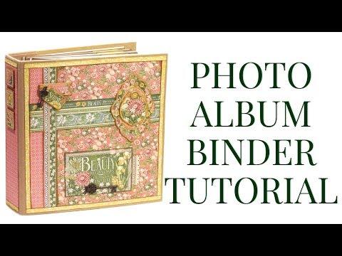 [Tutorial] Photo Album Binder : Club G45 Vol 01 - 2019 - Featuring Garden Goddess