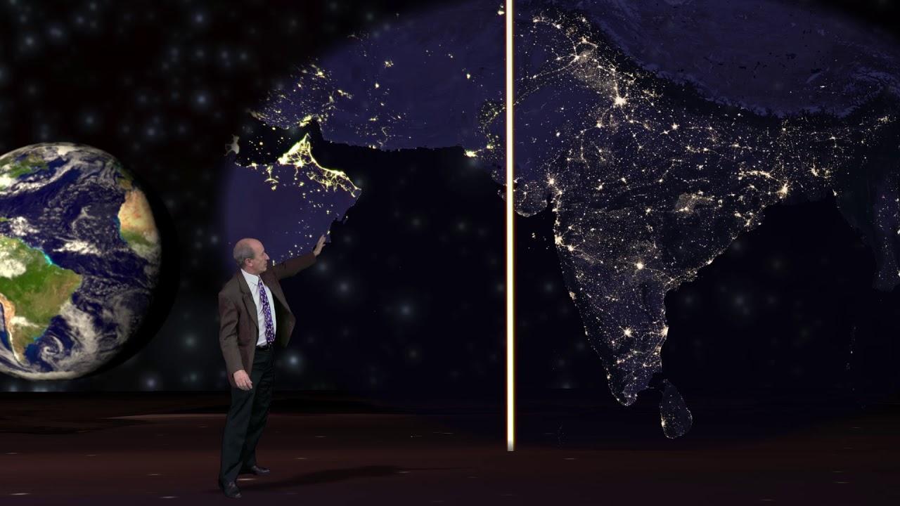 قياس اقتصاد جنوب آسيا من الفضاء الخارجي