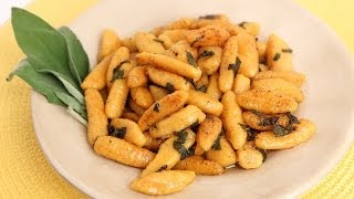 Sweet Potato Gnocchi Recipe - Laura Vitale - Laura in the Kitchen Episode 689