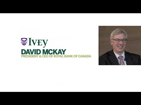How RBC is managing disruption – an interview with President and CEO David McKay