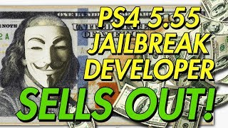 PS4 EXPLOIT DEVELOPER SELLS THE 5.55 JAILBREAK TO SONY!?