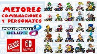 MARIO KART 8 DELUXE: ¡LAS MEJORES COMBINACIONES Y PERSONAJES!   Nintendo Switch