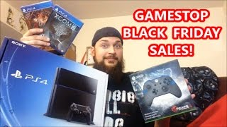 GAMESTOP BLACK FRIDAY SALES 2016! | Scottsquatch