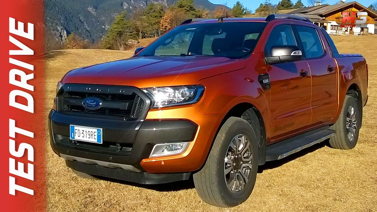 new ford ranger wildtrak 2017 first test drive only sound youtube. Black Bedroom Furniture Sets. Home Design Ideas