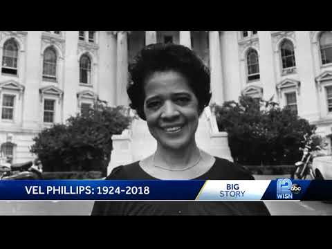 Milwaukee civil rights leader Vel Phillips dies at 94