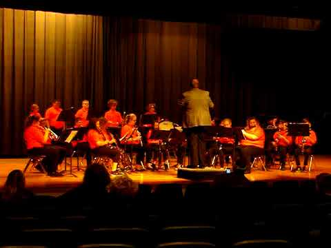 Chapmanville Middle School #2 - Region V Band Festival