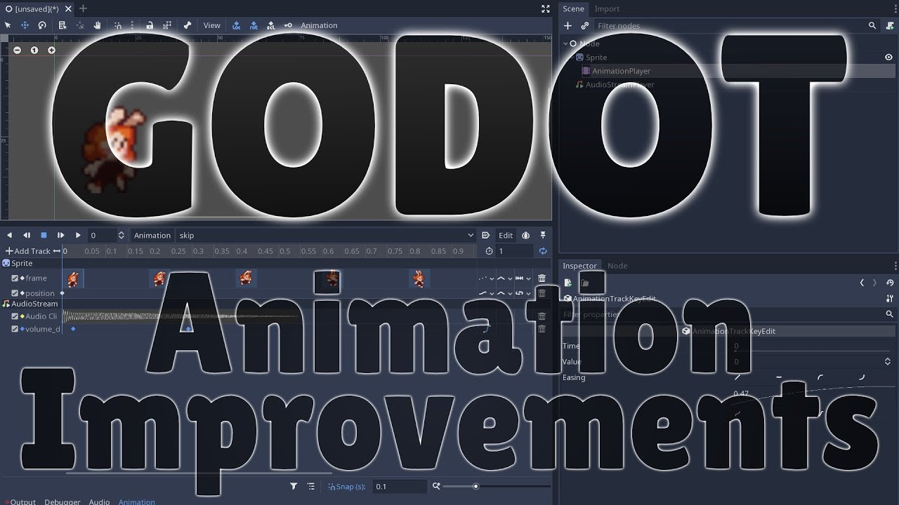 Godot 3 1 New Animation Improvements + How To Animate Tutorial