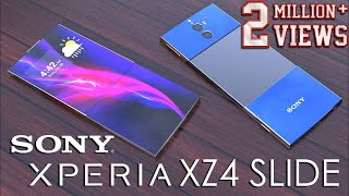 Sony Xperia XZ4 Slide Introduction Concept with 7.5inch 4K Display & 60MP Camera