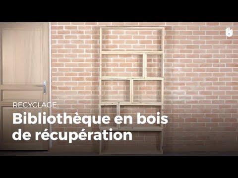 Fabriquer une bibliothèque en bois de récupération | Recycler