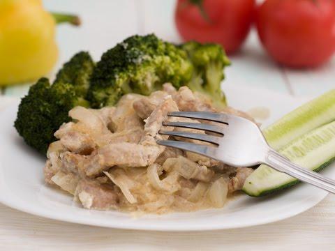 Свинина калорийность на 100 грамм вареной