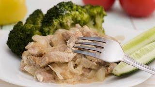 Бефстроганов из свинины– простой и доступный вариант знаменитого блюда