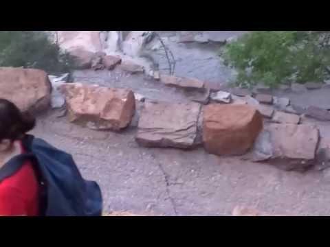 Top of Walter's Wiggles, Zion National Park, UT 8/6/14