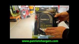 Patriot P20 Electric Fence Charger /energizer From Www.patriotchargers.com