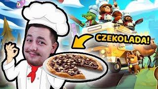 EPICKA PIZZA Z CZEKOLADĄ! - Overcooked 2 | ZIO i CZOKLET