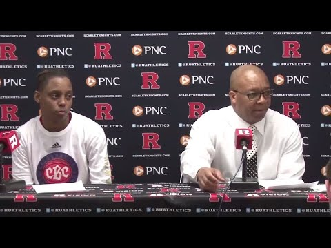 Women's Basketball Postgame Press Conference - Wisconsin