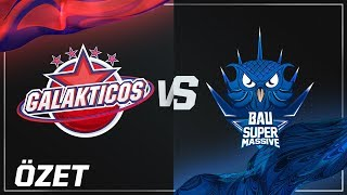Galakticos ( GAL ) vs BAUSuperMassive eSports ( SUP ) Maç Özeti | 2018 Kış Mevsimi 4. Hafta