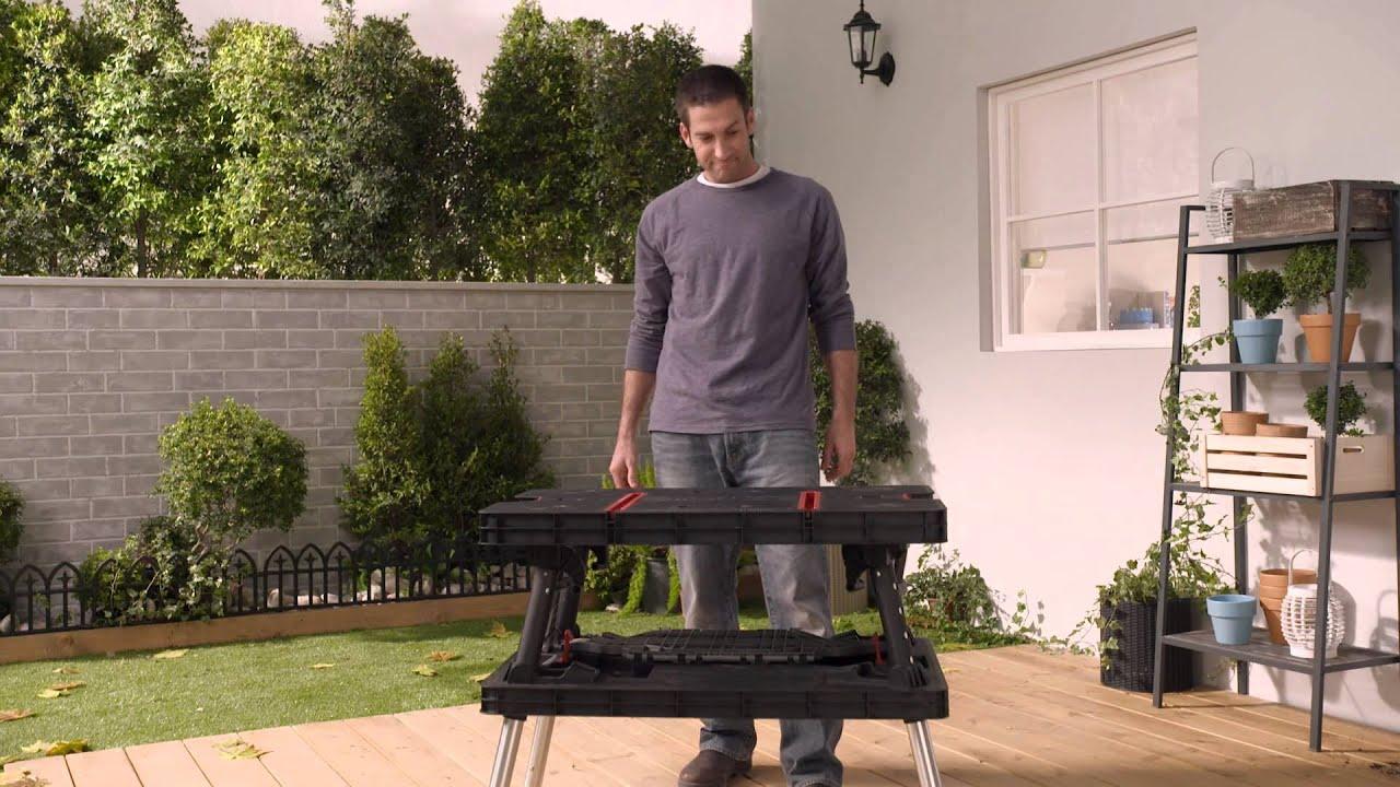 Folding table keter - Folding Table Keter 58