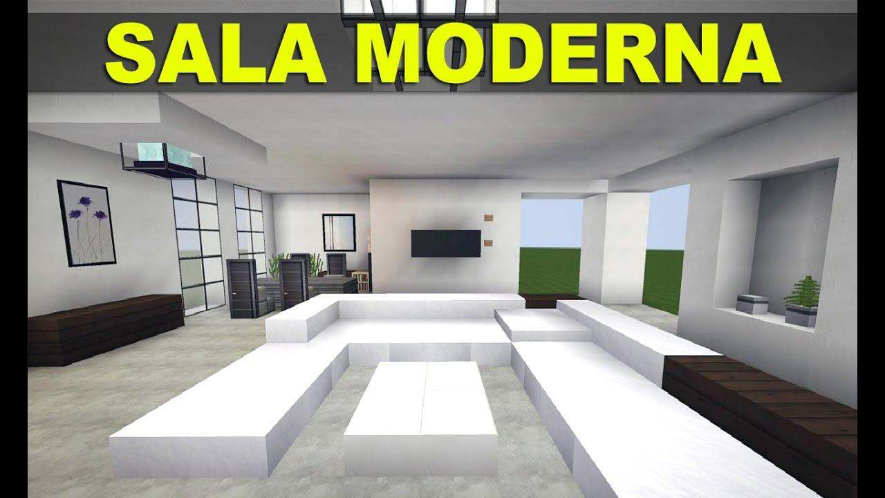 Many c modos e m veis sala moderna off mods youtube for Como decorar una sala moderna