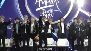Video 170114 BTS EXO Monstax minho reaction to RAIN perfomance Golden disc award download MP3, 3GP, MP4, WEBM, AVI, FLV Juni 2018