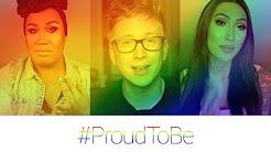 #ProudToBe:Youtube sveikina išdidumo mėnesio proga