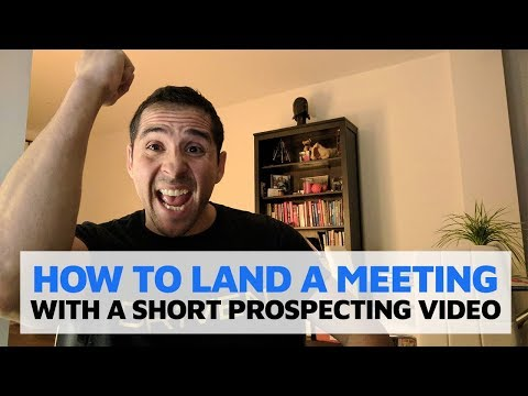 How to Land A SMMA Meeting  - Short Prospecting Video Technique