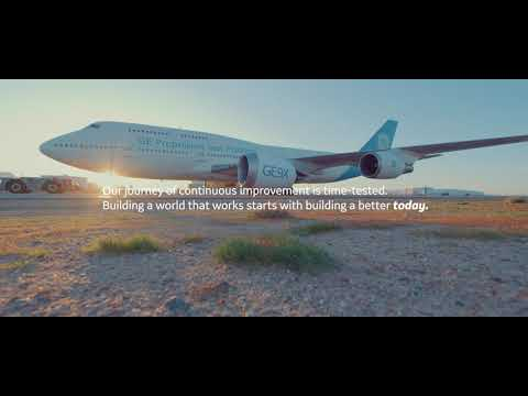 At GE Aviation, were committed to a more sustainable future of flight