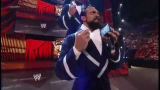 Damien Sandow vs. Yoshi Tatsu - WWE Smackdown 5/18/12