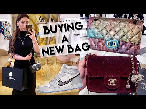 Buying A New Chanel Bag From Métiers D'art Collection + Dior Air Jordan, Amina Muaddi & LV Shopping
