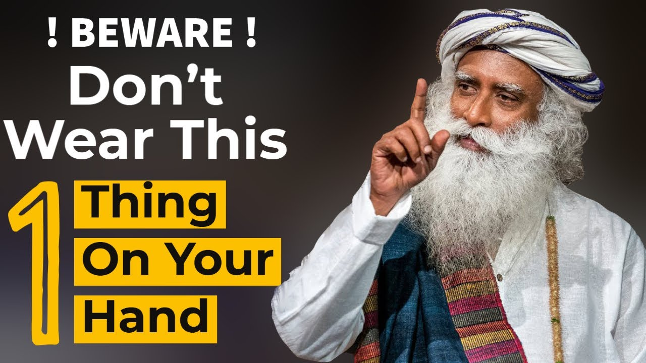 Download Never Ever Wear This 1 Thing On Your Hand | Sadhguru On Occult | Remove Negative Energy