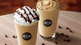 McDonald's Unveils New FROZEN Cold Brew Drinks