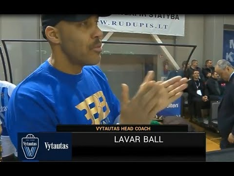 Another Head Coach game for LAVAR BALL! Vytautas vs VEF Ryga 02/25/2018
