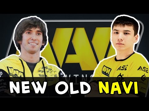 New NaVi first match — Sonneiko is back