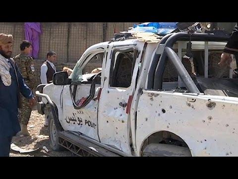 حمله انتخاری طالبان در ناد علی ولایت هلمند