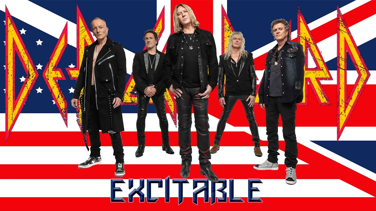 Download Def Leppard - Excitable - 4k quality - Hits Vegas Live at the Planet Hollywood. 2019