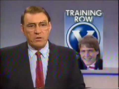 Tony Lockett Big V Training Row - ABC News report 1989
