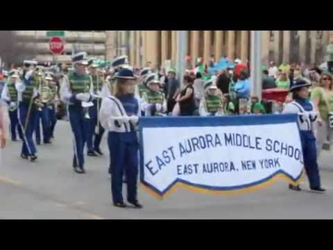 East Aurora Middle School Marching Band