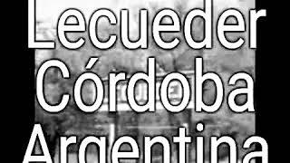 Lecueder - Córdoba - (Argentina), - Años (2018),,,