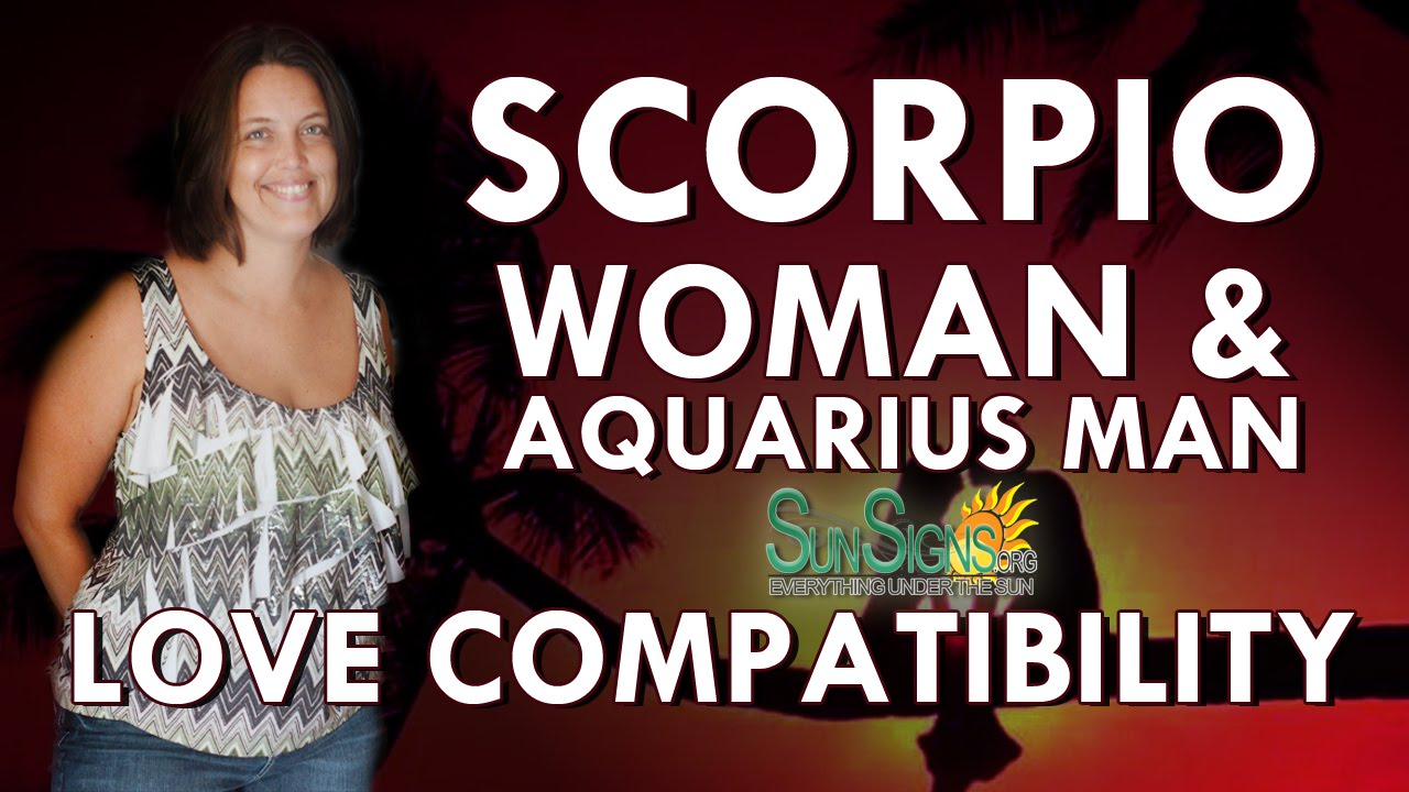 Virgo male dating scorpio female