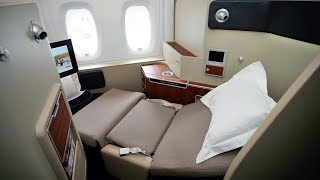 Qantas A380 First Class Dubai to London
