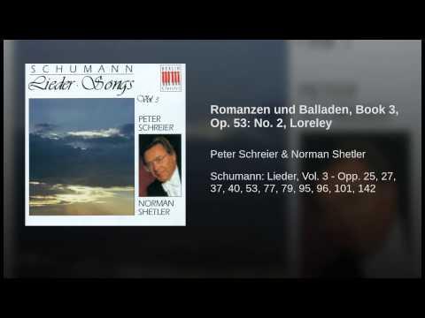 Romanzen und Balladen, Book 3, Op. 53: No. 2, Loreley
