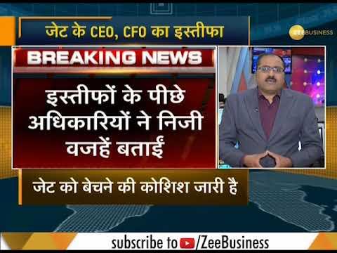 Breaking: Jet Airways CEO, CFO, Chief People Officer quit