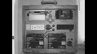 HOMEMADE DIY SOLAR POWERED GENERATOR - 12v / 220v - COMPLETE PACKAGE ***JENIrator***